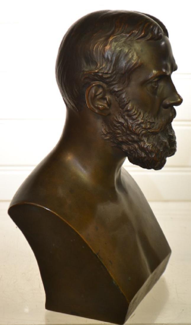 Bronze Bust of Gen. Ewing by Buteau Bros. - 3
