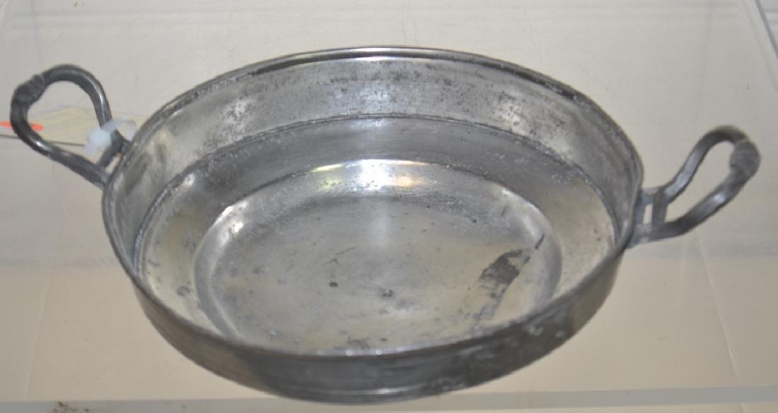 19th Century German Pewter Serving Dish