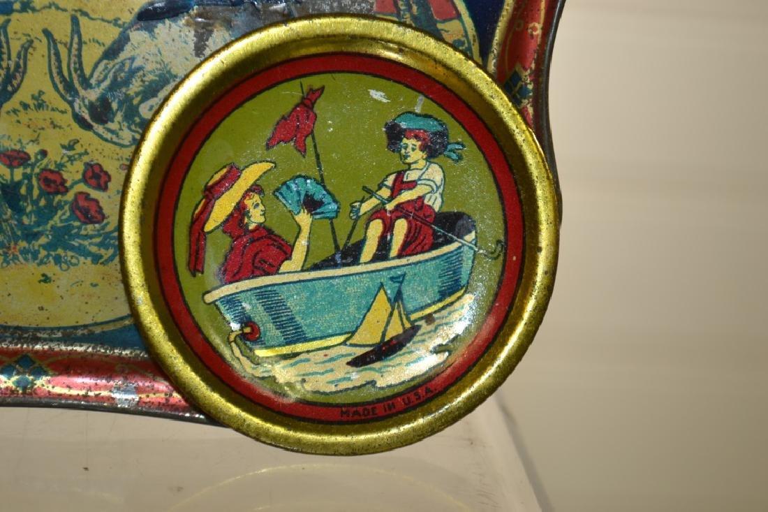 Antique American Child's Toleware Trays - 3