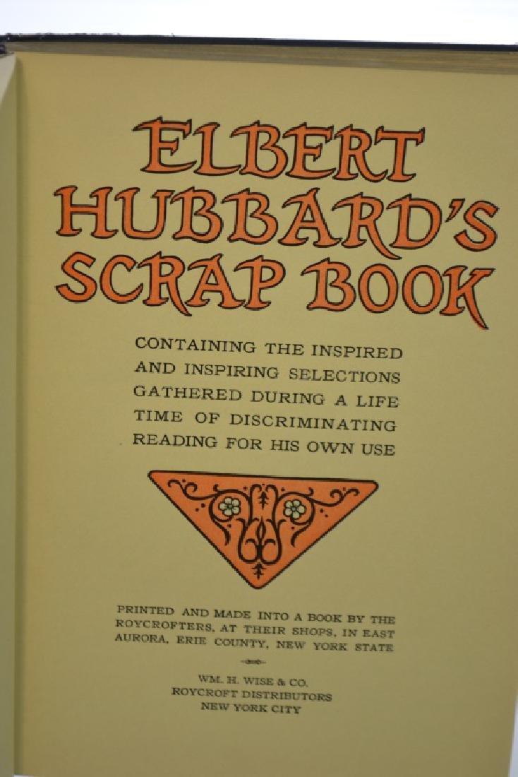 1923 Edition of Elbert Hubbard's Scrapbook - 2