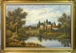 Acrylic on Canvas Signed Mathilda