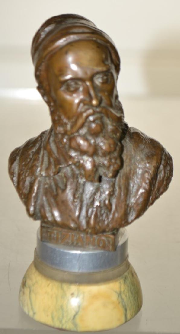 Bronze Bust of Tiziano (Titian)