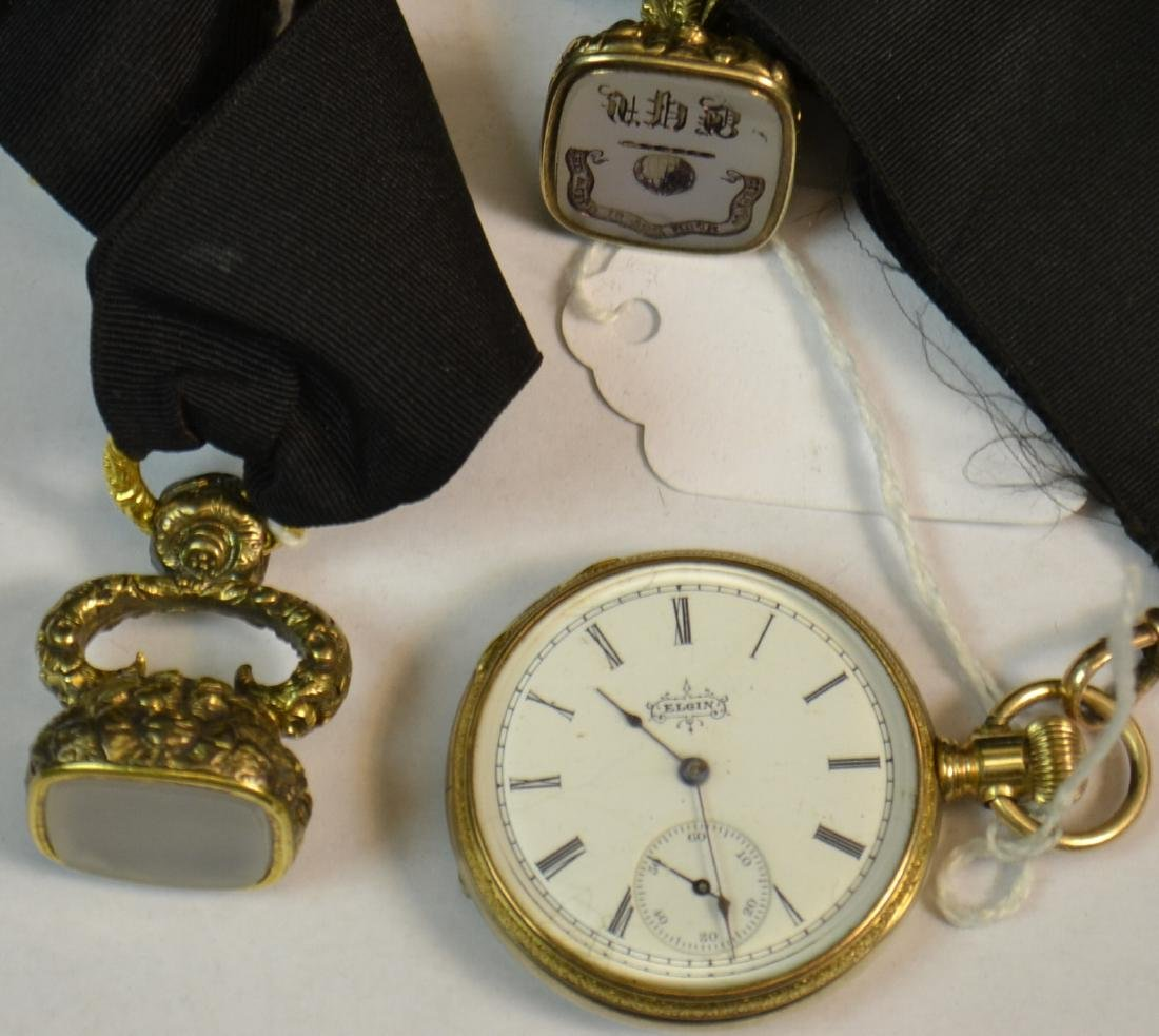 Francis P. Blair Watch and Watch Fobs
