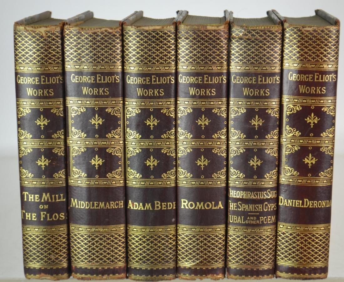 6 Vol.George Eliot's Works