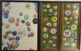 Political Pin Back Collection