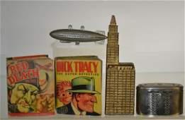 Vintage Banks and Big Little Books
