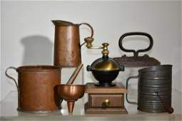 Country Kitchen Ware Grouping