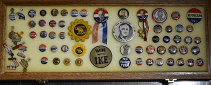 Collection of 1940s Political Pinbacks