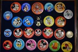 Collection of Walt Disney Pin Backs
