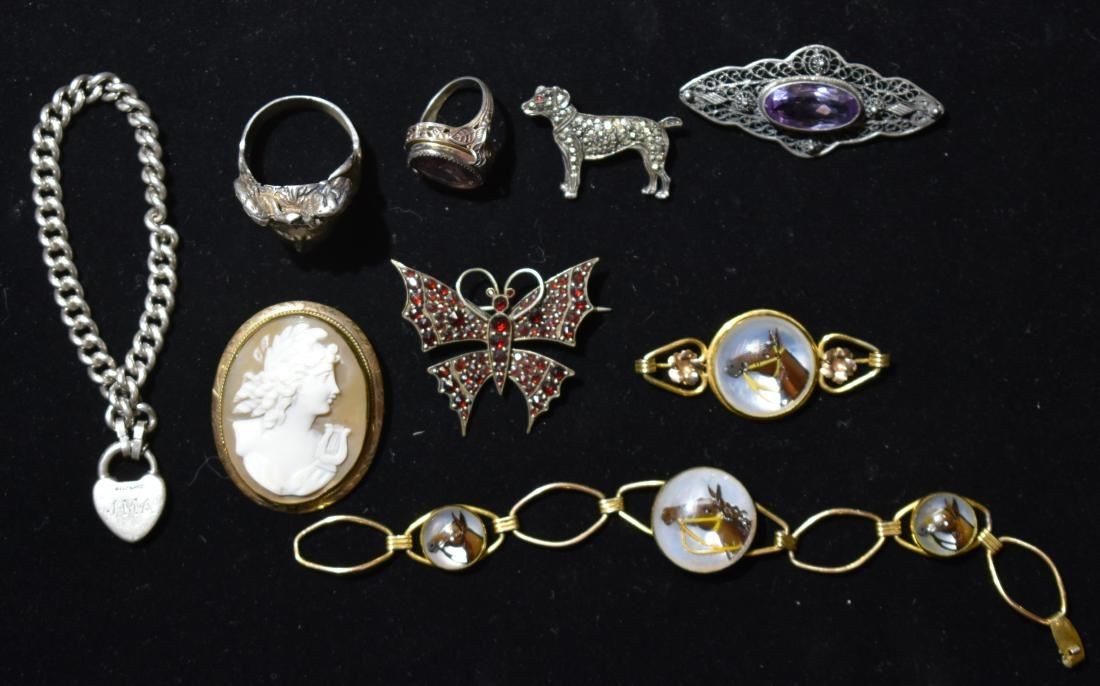 Victorian Silver and Gold Filled Jewelry