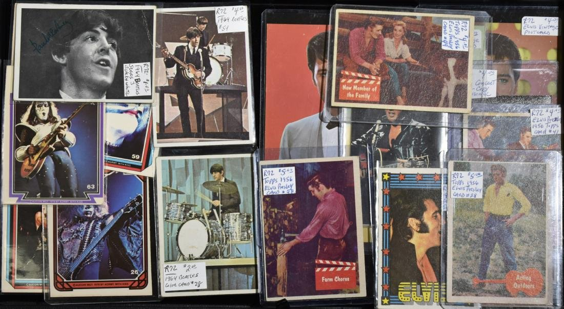 Beatles and Other Vintage Trade Cards