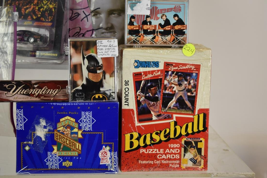 Elvis and Sports Cards - 3
