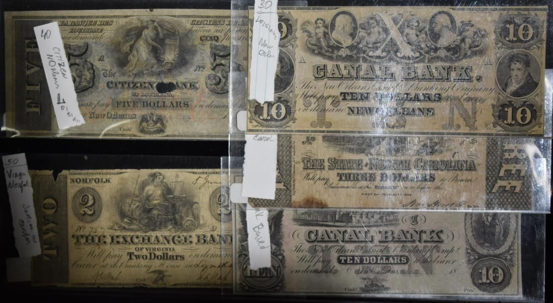 Five Absolute Bank Notes