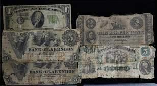 Vintage Bank Notes