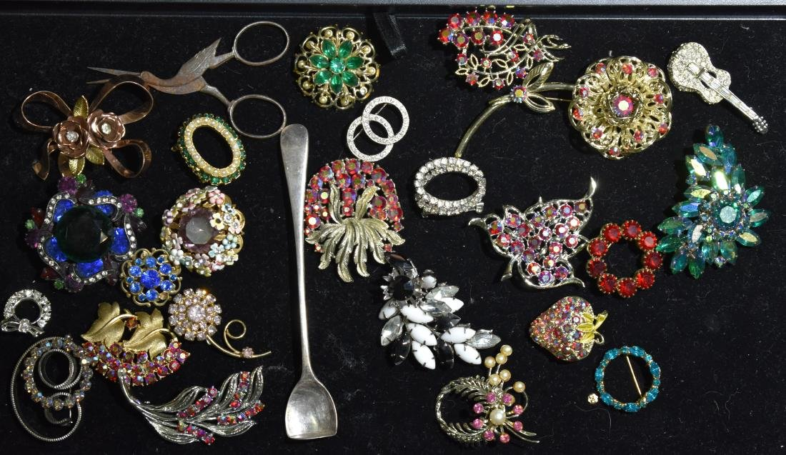 Vintage Brooches and Pins