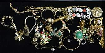 14K Gold and Quality Costume Jewelry