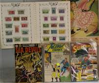 Vintage Comics and Stamps