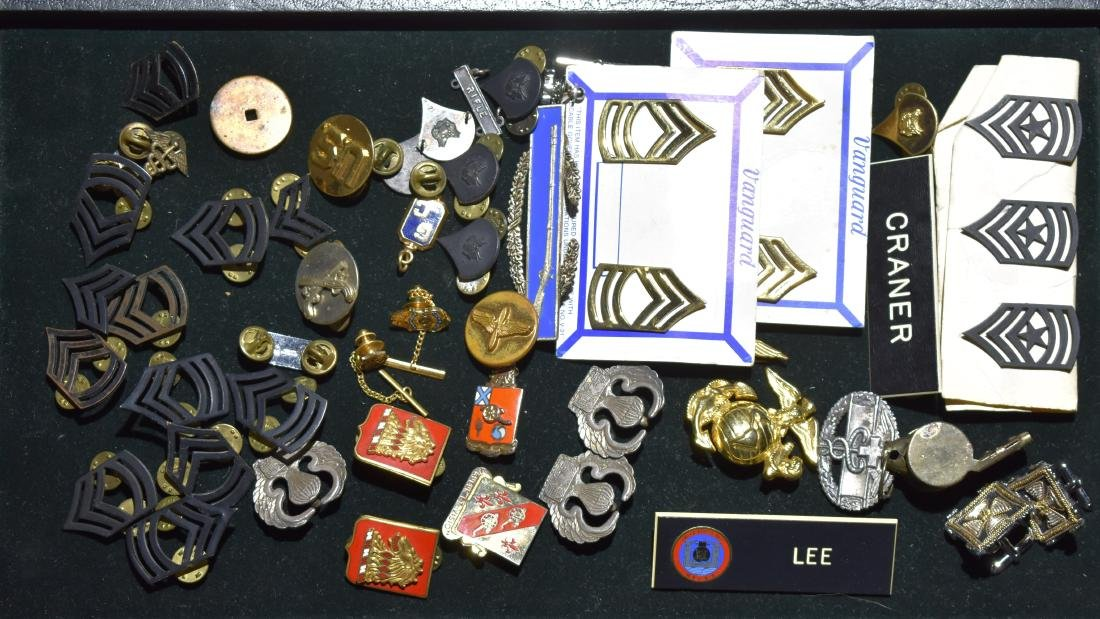 Military Insignias and Pins