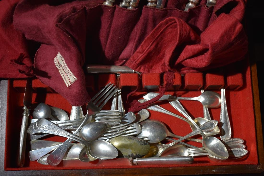 Sterling & Plated Flatware - 3
