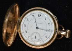 Lady's Pocket Watch in a Gold Filled Case