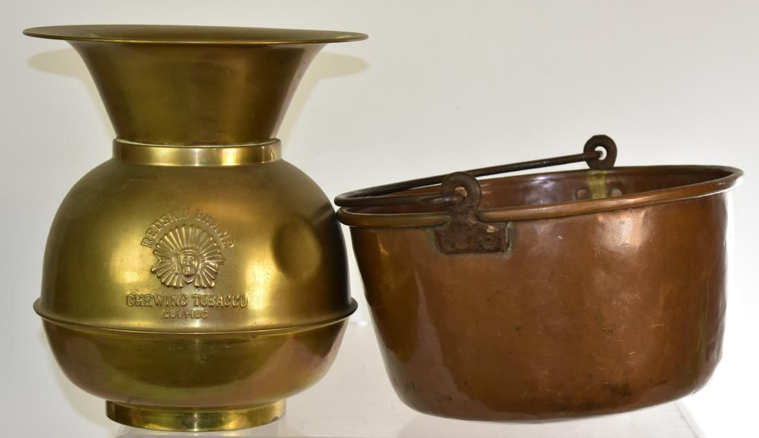 Grouping of Vintage Brass Items