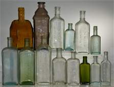Early Advertising Bottles