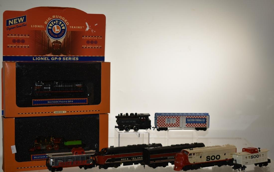 Lionel and Marx HO & N Trains