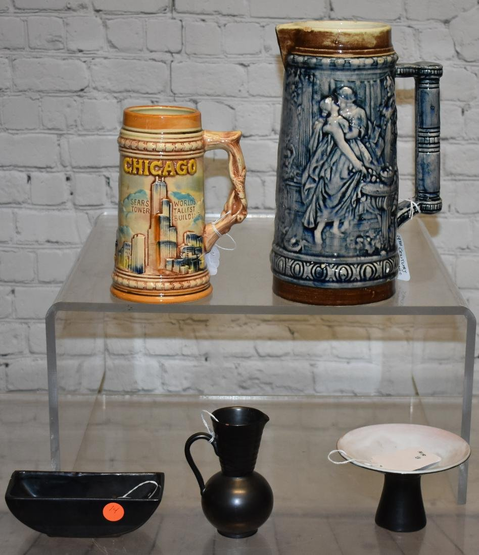 """Monarch"" Pottery and Steins"