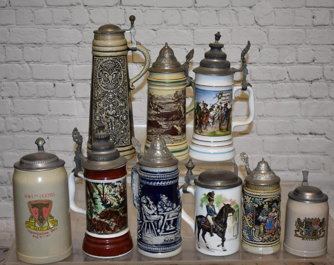 Collection of Steins