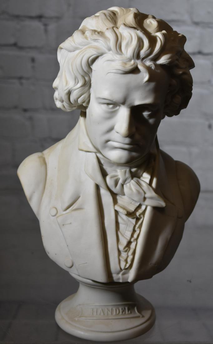 Porcelain Bust of Handel