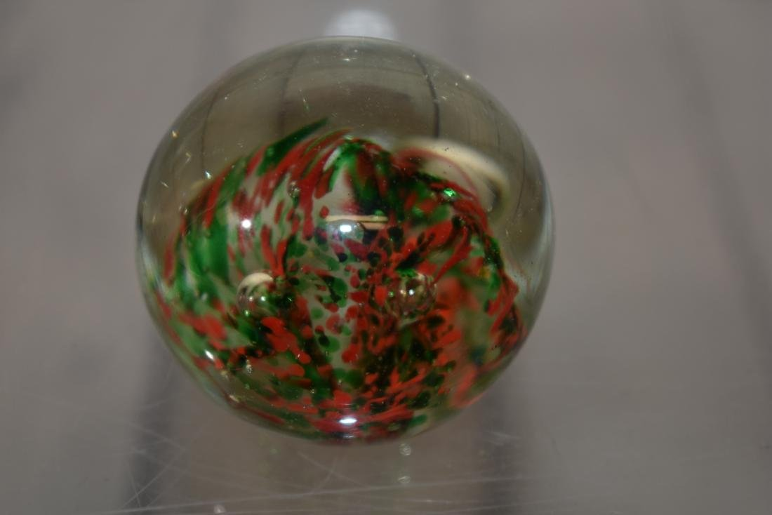 Orrefors Crystal Frog & 3 Other Paperweights - 5