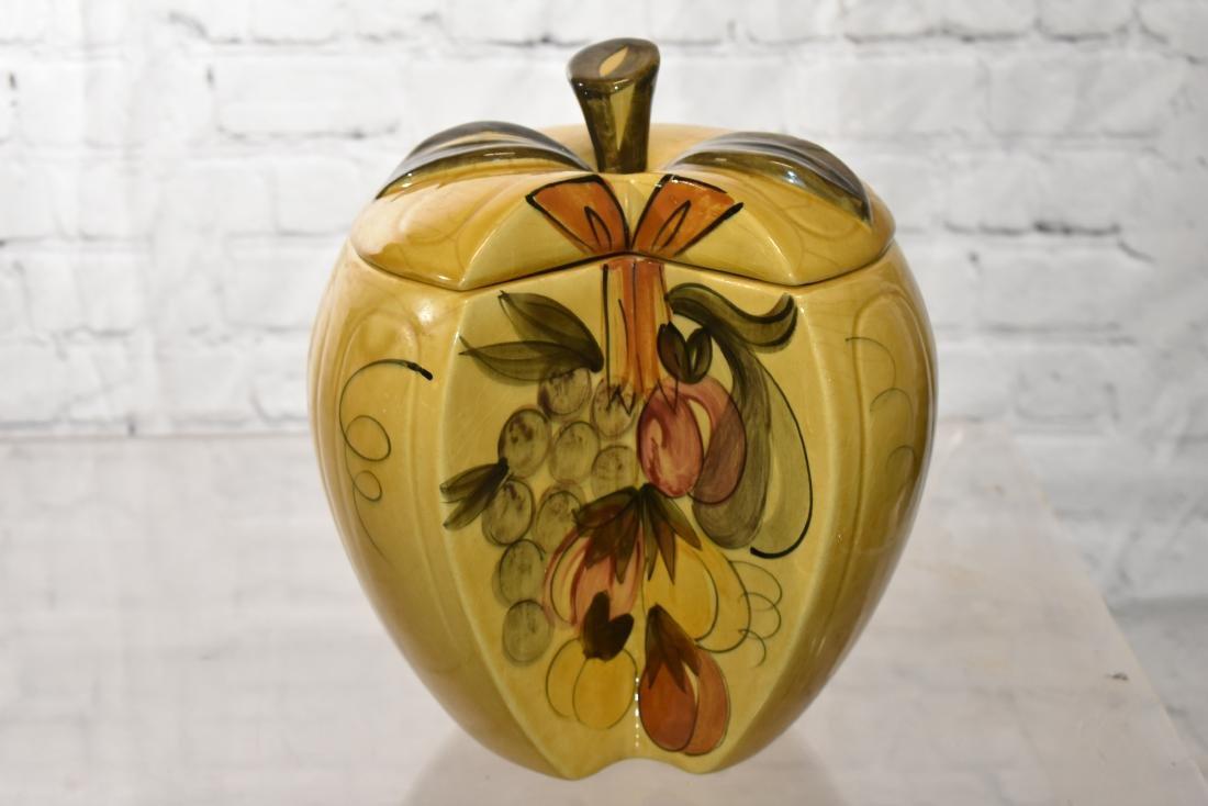 Three Fruit Shaped Cookie Jars - 3