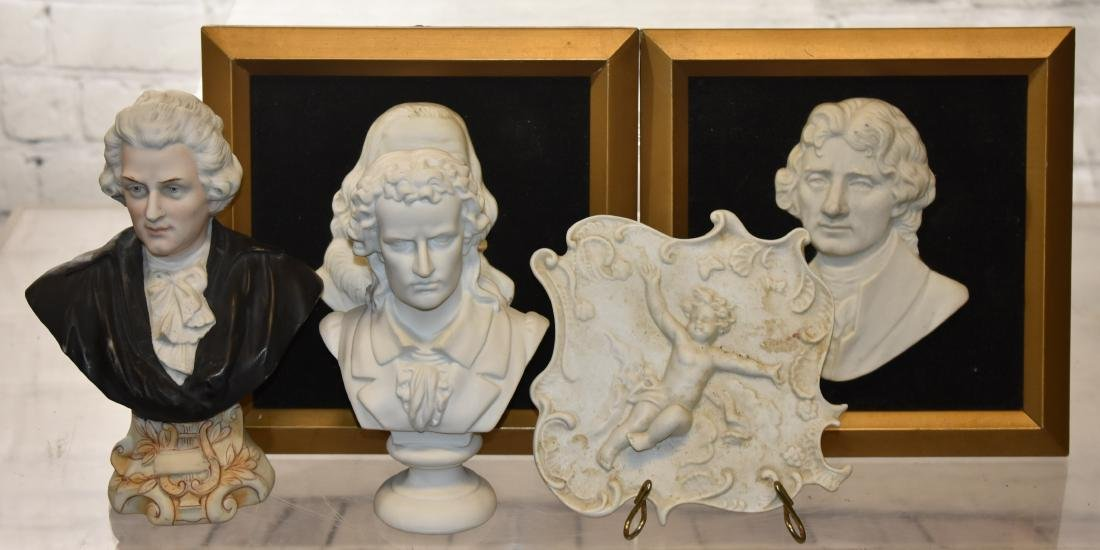 Grouping of Porcelain Figures