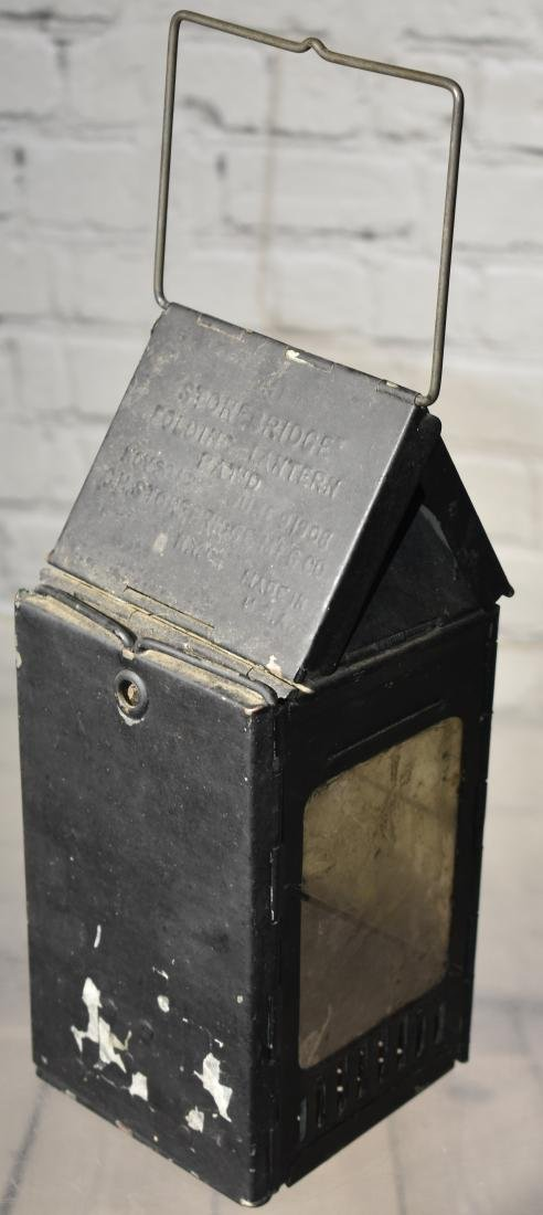 Antique Folding Lantern