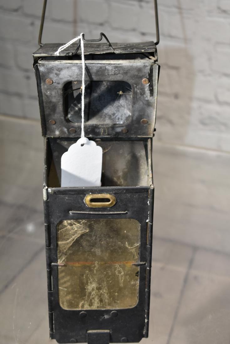 Antique Folding Lantern - 2