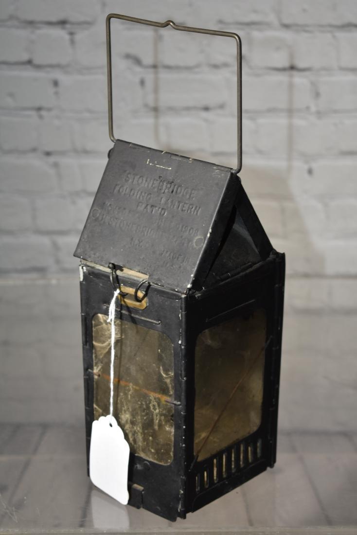 Antique Folding Lantern - 3