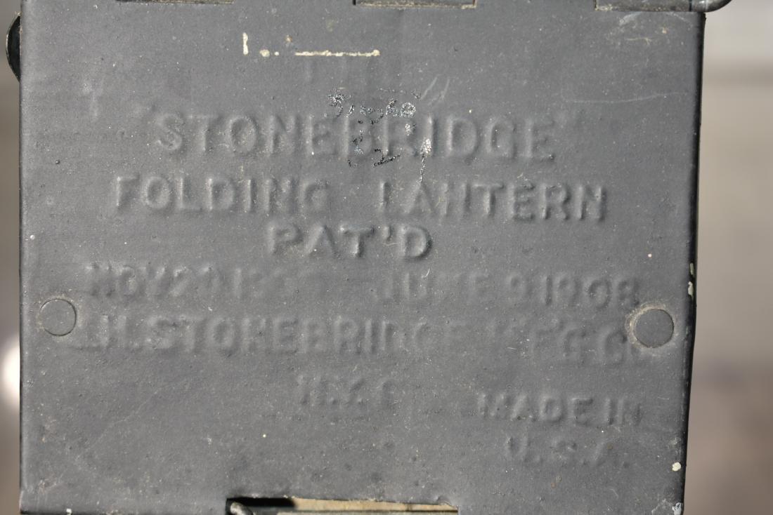 Antique Folding Lantern - 4
