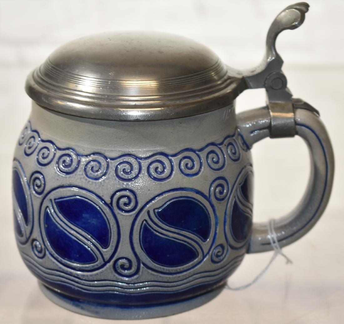 Antique Stoneware Stein