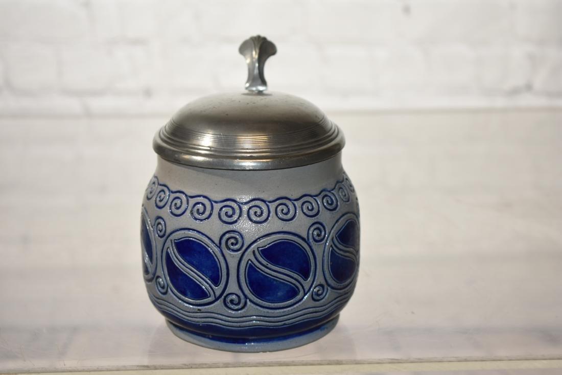 Antique Stoneware Stein - 2