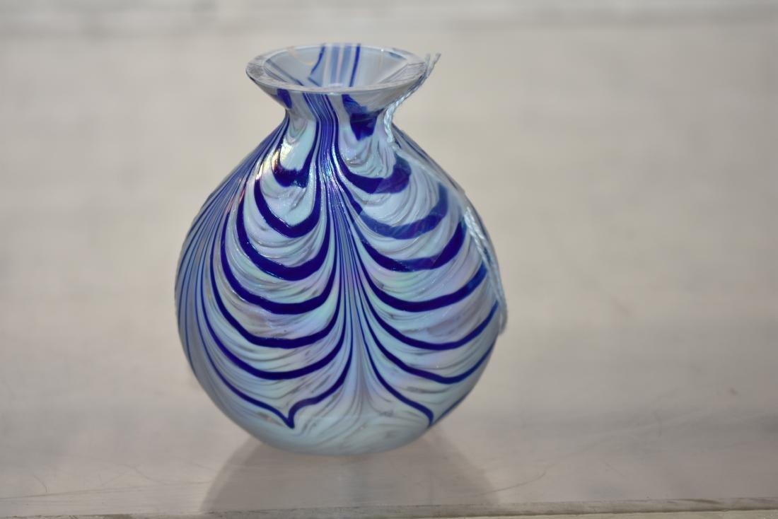 Art Glass Bud Vase - 2