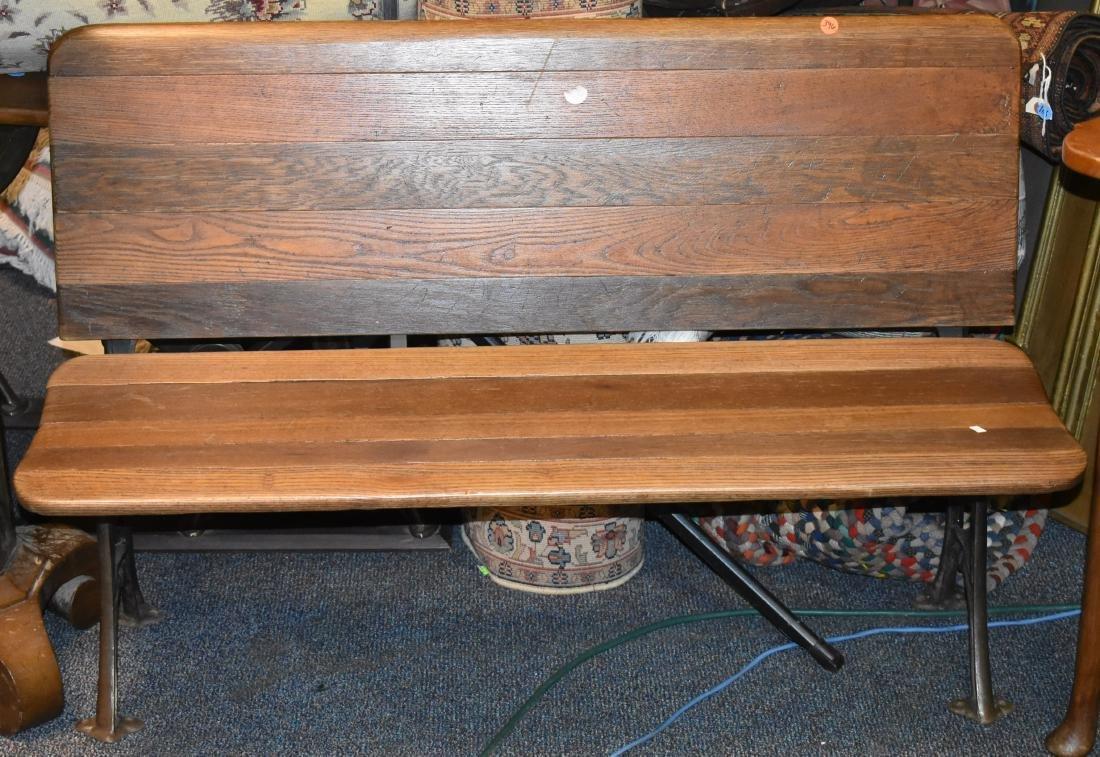 19th Century School Bench