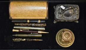 Vintage Fountain Pens and Related Items
