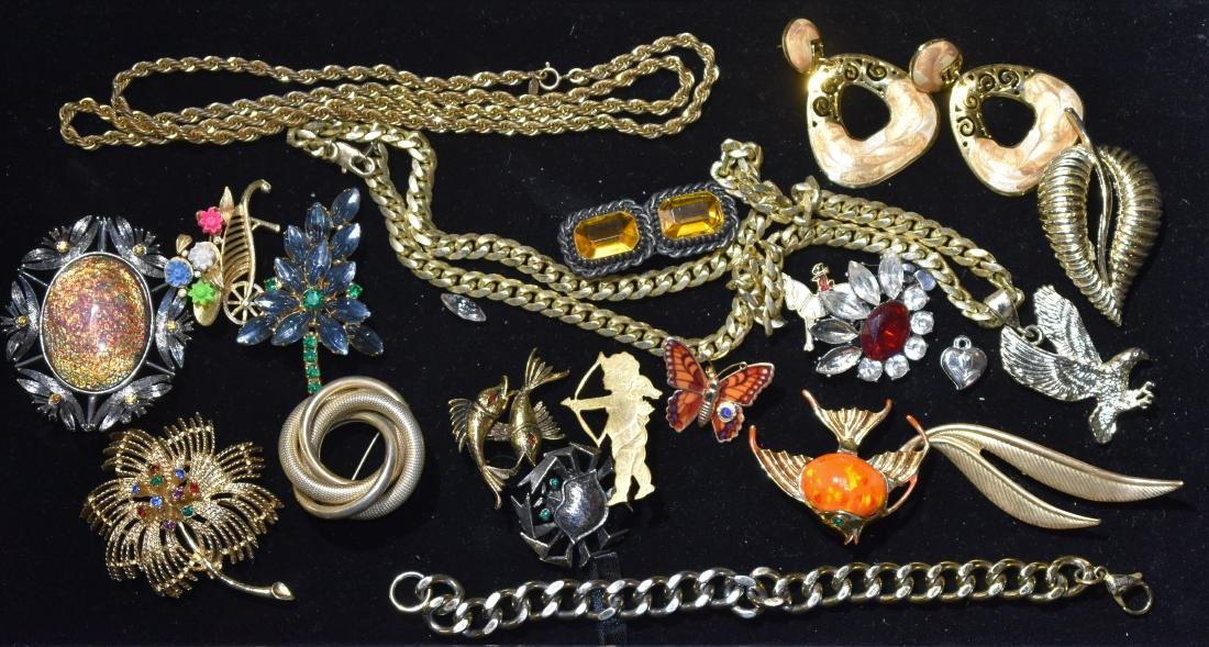 Necklaces and Pins