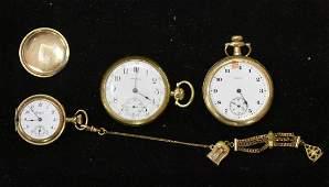 Three Pocket Watches