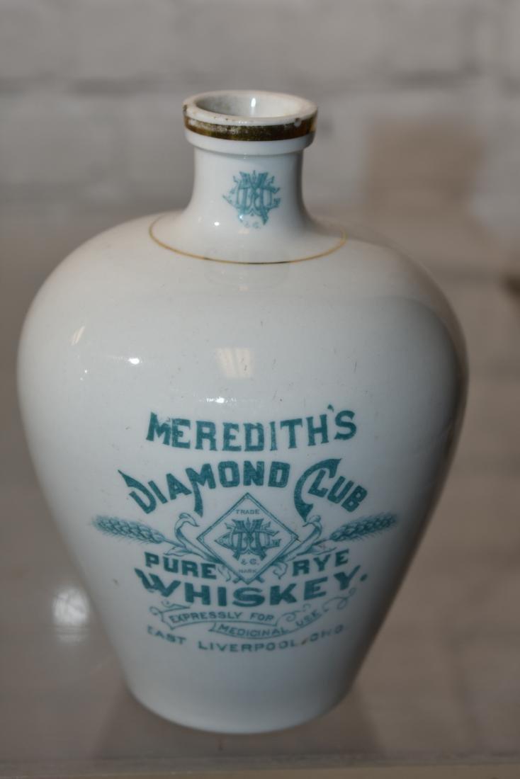 Graduated Meredith's Diamond Club Whiskey Jugs - 2