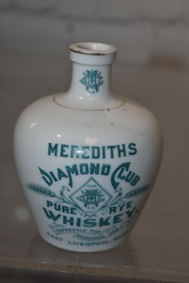 Graduated Meredith's Diamond Club Whiskey Jugs - 4