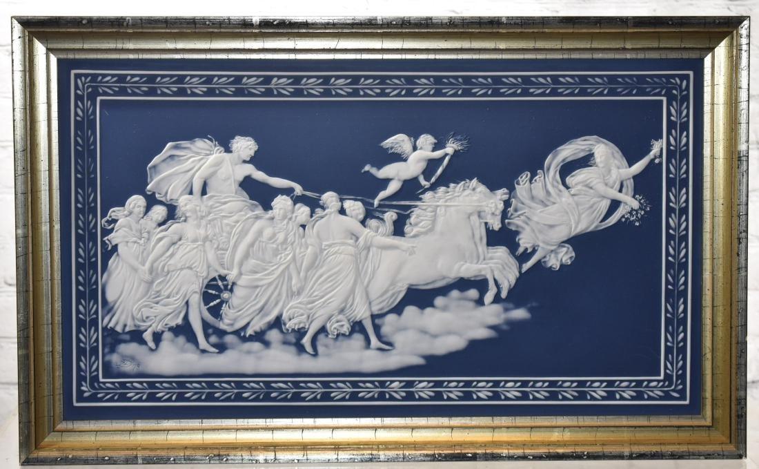 Outstanding Villeroy and Boch Jasperware Plaque