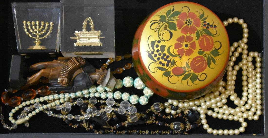 Costume Jewelry and Paperweights