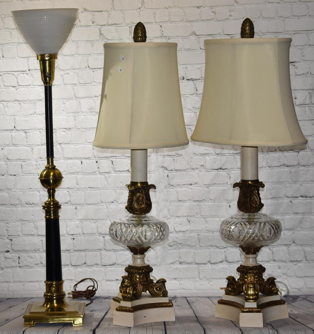 Three Quality Table Lamps