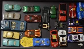 Grouping of Slot Cars and Hot Wheels